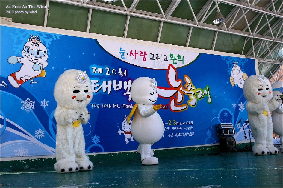 Mt.Taebaek Snow Festival Train Tour (1day)~09:34 Departure time